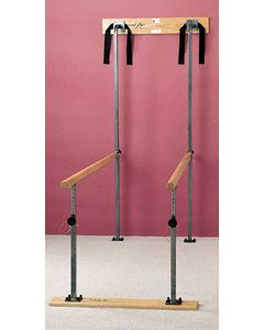 7' Wall-Mounted Folding Parallel Bars