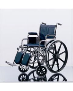 Excel Narrow Wheelchair - Removable Desk-Length Arms, Swing-Away Detachable Footrests