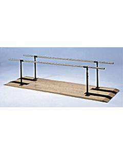 """Height-Adjustable Parallel Bars - Parallel bars 26"""" width height adjustable from 28"""" to 41"""""""