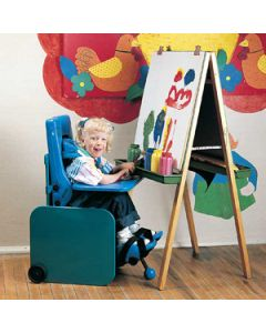 Tumble Forms 2Carrie Seating System - Elementary Seat with Tray and Footrest