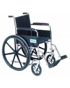 Venture Light Wheelchairs. Fixed Full Arm Wheelchairs - 18''W x 16''D with Swingaway Footrests