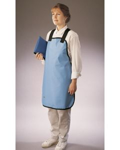Wolf Conventional Standard Weight Lead Apron, Powder Blue, X-Large