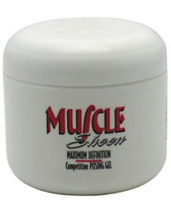 Performance Brands, Muscle Sheen, Competition Posing Gel, Maximum Definition, 4 fl oz (118.5 ml)