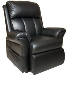 Lift Chair - FM001, Faux Leather Brown