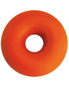 "Pessary Red Rubber Soft Inflated Ring: 2 and one half"" (65 mm)"
