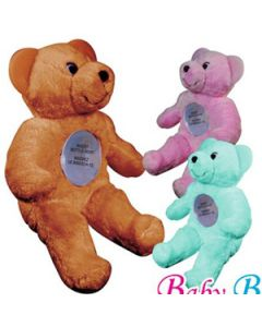 Baby Bottle Buddy - Baby Bottle Holder With Teething Ears, Bear, Color Assorted