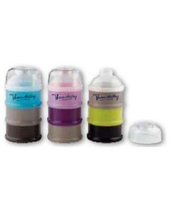 3 Tiered Formula/Food Container, Color: Assorted