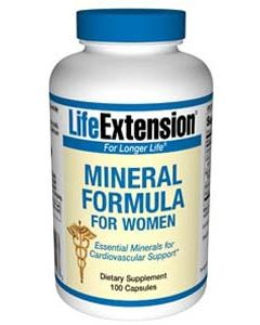 Mineral Formula for Women, 100 capsules