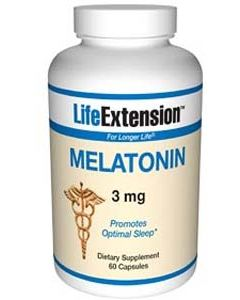 Melatonin, 3 Mg, 60 Capsules