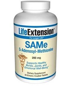 SAMe S-Adenosyl-Methionine, 200 mg 50 tablets