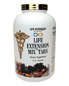 Life Extension Mix Tablets, 315 tablets