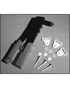 Quick Lock Fasteners Lg, Black or White, Pk of 100