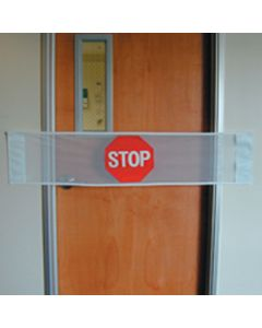 Posey Door Guard/Do Not Enter Banner, Description: Do Not Enter Banner